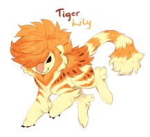 Tiger Lily - Koddoe 24H auction (CLOSED) by TwinyTailStudios