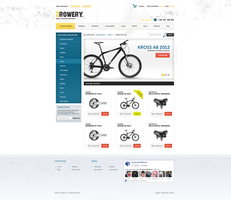 bike shop redesign by ciemak666