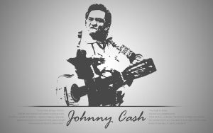 Johnny Cash Wallpaper by PiroRM