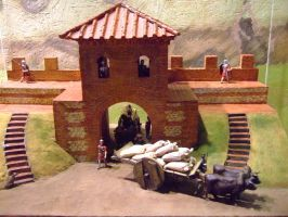 Romano British Outpost by witchfinder-stock