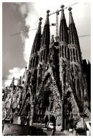 Sagrada Familia by Animecowboy