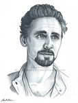 Tom Hiddleston Marker Sketch by sugarpoultry