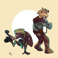 Drig and Asok by Ryan-Rhodes