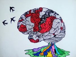 Blurryface and selftitled brain by kilanath