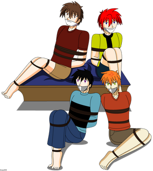 The Tied up group by Ming-GID