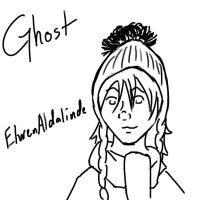 PMOCT scetch Ghost by annarowlye