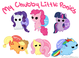.:My Chubby Little Ponies:. by ChaiiTeaLatte