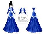 [Theme Auction Dress] Sapphire Winter (OPEN) by KillerGirlFuria