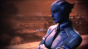 Liara T'Soni by celyntheraven