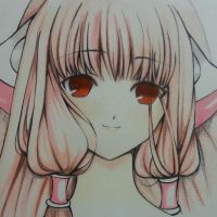 Clamp- Chii from Chobits by thumbelin0811
