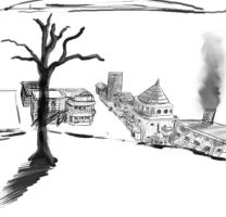 ginary town wip by fear-is-spreading