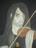 The man with the Violine by Durah