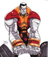 Colossus by SketcheeBizniz
