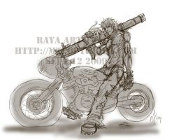 Rough Art Trade for Raya by m-t-copyright