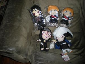 Anime Plushies For Sale (MAJORLY UPDATED) by HinataFox790
