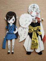 Yume+Sessh foam dolls by Reenigrl