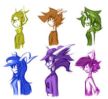 Side View of Fantrolls by 7-Days-Luck