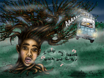Harry Potter: Whomping Willow Smith by OdieFarber