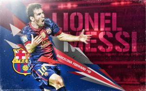Lionel Messi Barcelona Forward BY NAMO,7 by 445578gfx