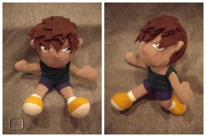 Heero Yuy the Plushie by VesteNotus