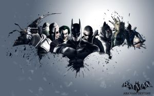 Batman Arkham Destiny by SnakeVersus1