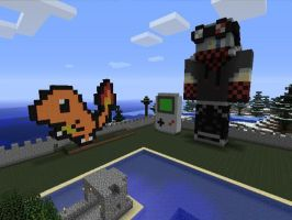 My Art on Minecraft Xbox 360 Version by Nara-Ousansamaki