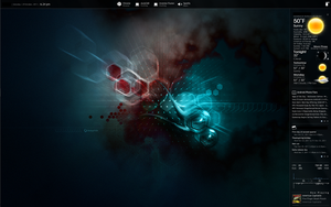 October 2011 Rainmeter Setup by Volmie