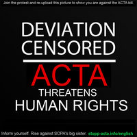 STOP ACTA - KEEP THE INTERNET FREE by illdeletethisaccount