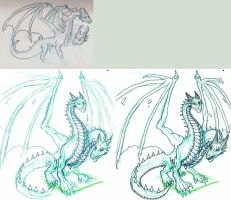 Two Headed Dragon- W.I.P by Lathrin