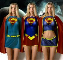 Supergirl Versions by dan457