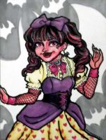 Monster High A6 series: Draculaura by xxLulu