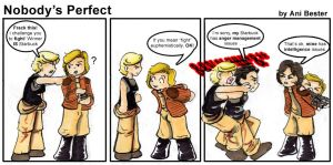 Nobody's Perfect by BSG-Comics