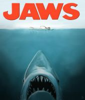 Jaws Poster Painting by lberry1976