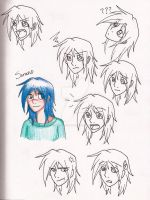 Sorano Facial Expressions by forgottenlegend