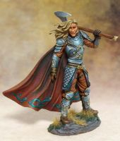 Barbarian painted by Jessica Rich by newboldworld
