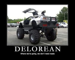 Demotivational - DeLorean by garyjsmith
