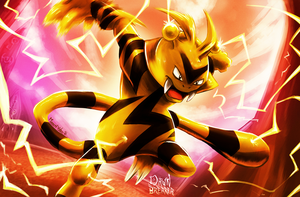 Electabuzz - KantoDex by DawnbreakerDESIGNS