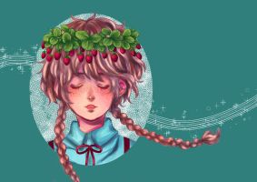 Strawberry crown by lamascotadeldemonio