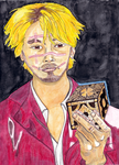 Kakihara and Lemarchand's Box (Ichi the Killer) by therogueone
