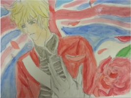 England Watercolour Revolutionary War by agerose15