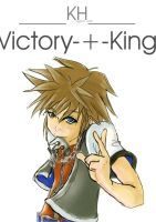 KH: -Victory-+-King- by maxwell-kiddo