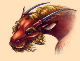 Red Dragon by ArtFencer
