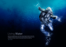 Living Water Poster Print File by loswl