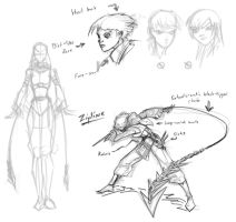 Zipline: Character Study 1 by Transbot9