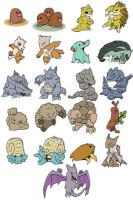 Pokemon of Earth and Stone