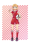 Commission - Serena soccer player by MyHeartGold