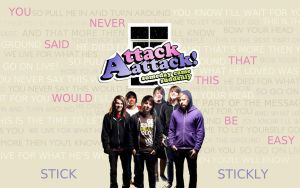 Attack Attack background by Museign