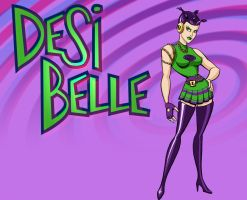 Desi Bell - Anaglyphic 3d by toddworld