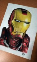 iron man by ijcerezo