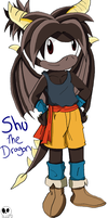 Shu the Dragon by MammaCarnage